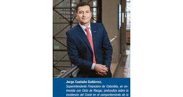 Jorge Castaño Gutiérrez, Superintendente Financiero de Colombia