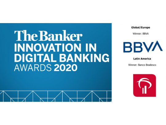 Premios a la innovación Digital Bancaria Revista The Banker