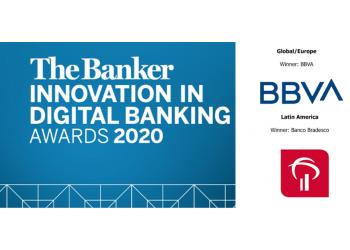 Premios a la innovación Digital Bancaria Revista The Banker