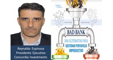 Reynaldo Espinosa Presidente Concordia Investments